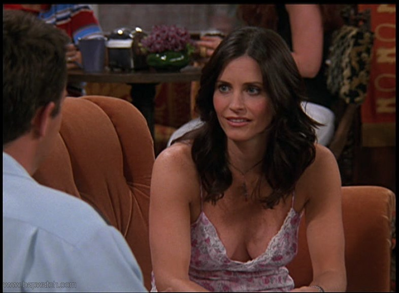 image Courteney cox friends cleavage