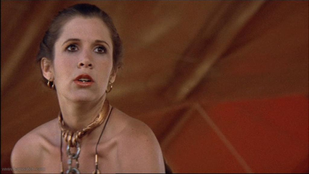 Carrie fisher bikini pics cannot tell
