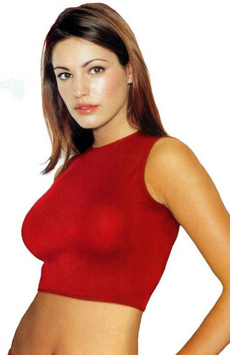 Kelly Brook Red Top