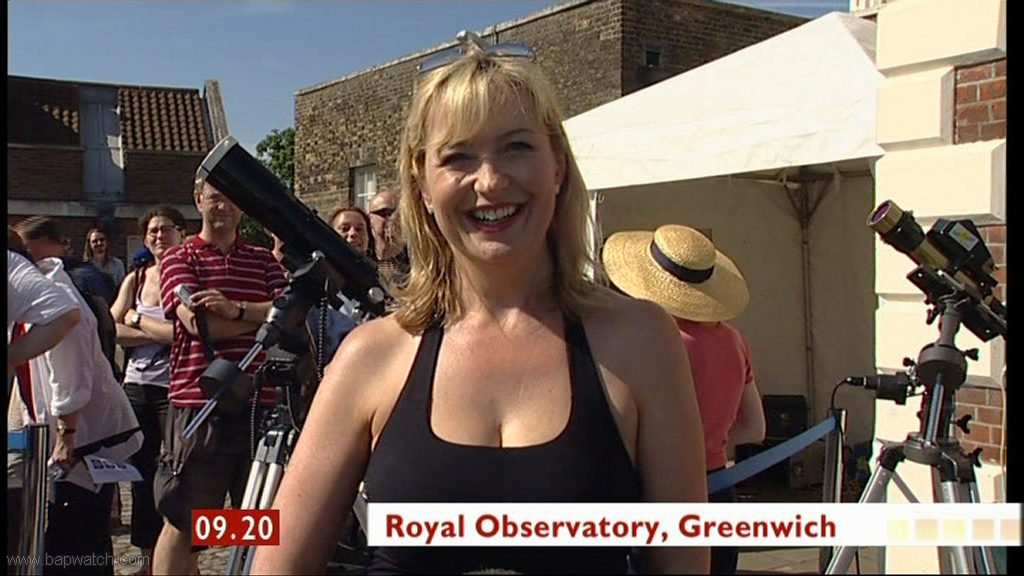 Carol Kirkwood Royal Observatory smiley