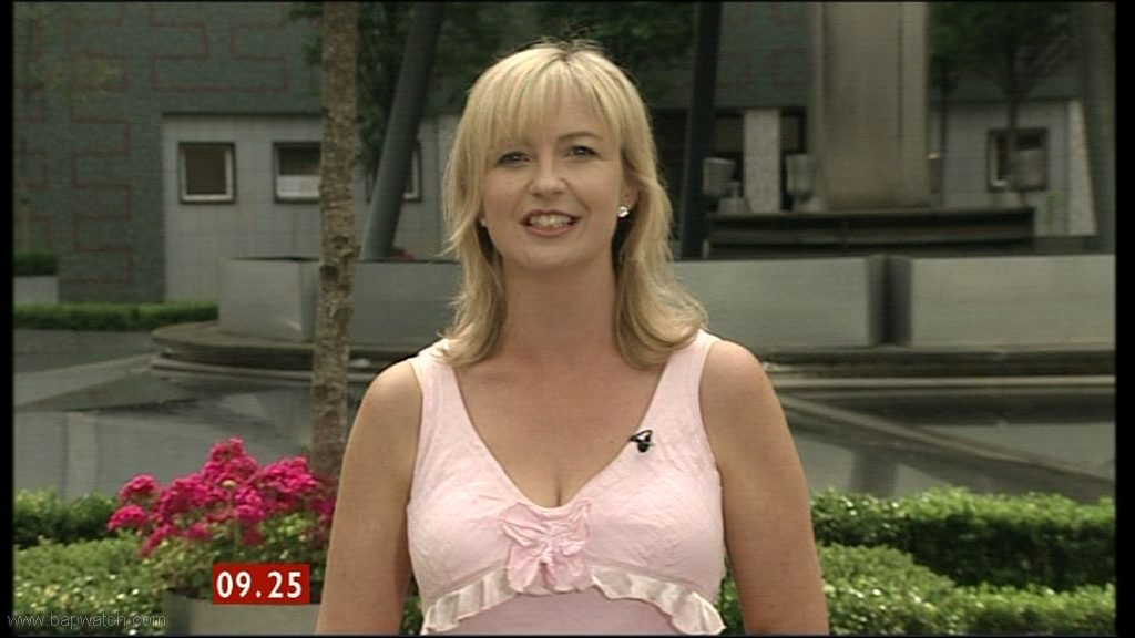 Carol Kirkwood Pink Dress