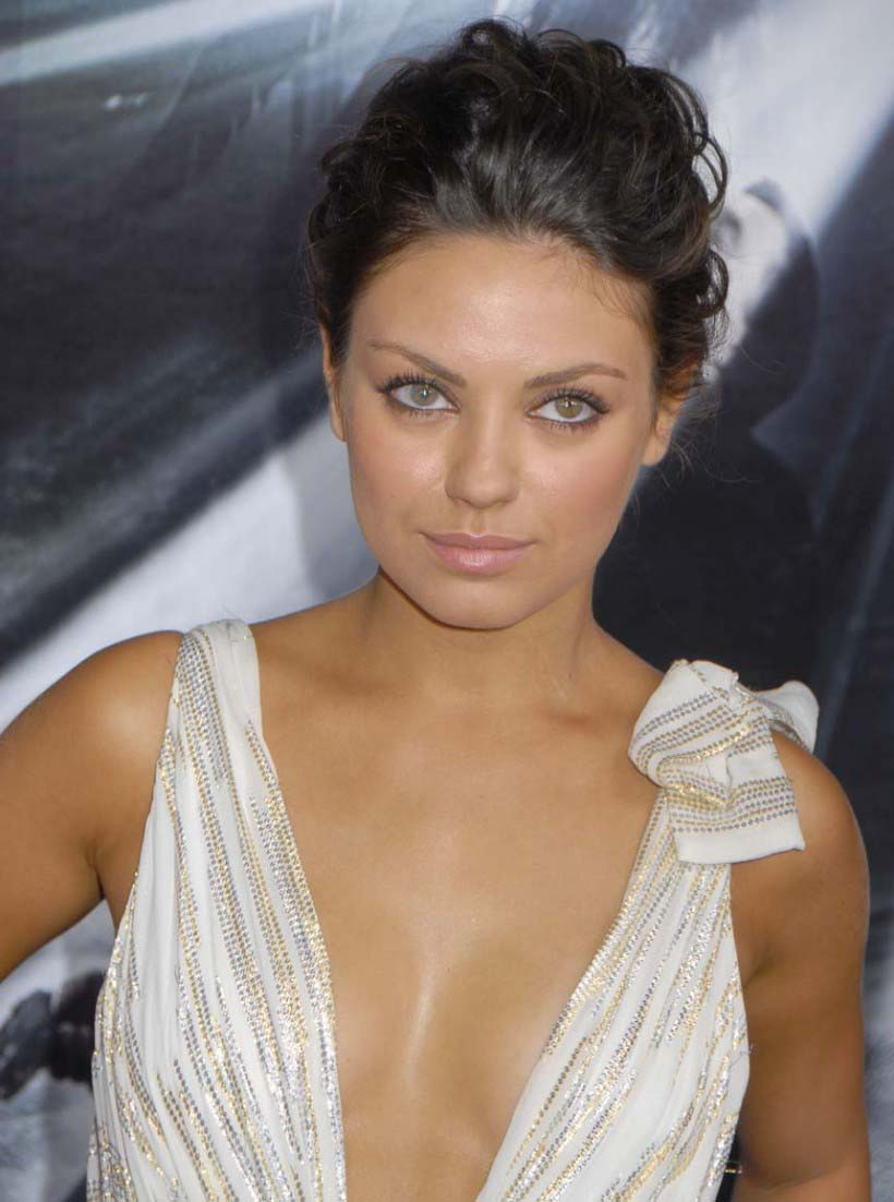 Mila Kunis White Dress