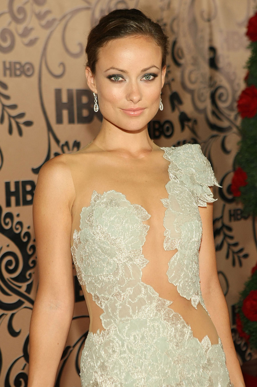 Olivia Wilde Flowery Dress