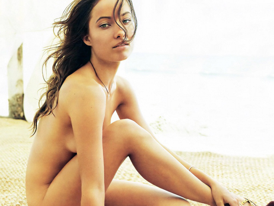 Olivia Wilde No Clothes