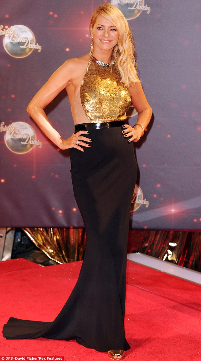 Tess Daly Backless Sequin Dress