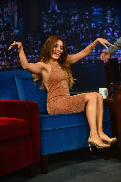 Vanessa Hudgens Late Night With Jimmy Fallon