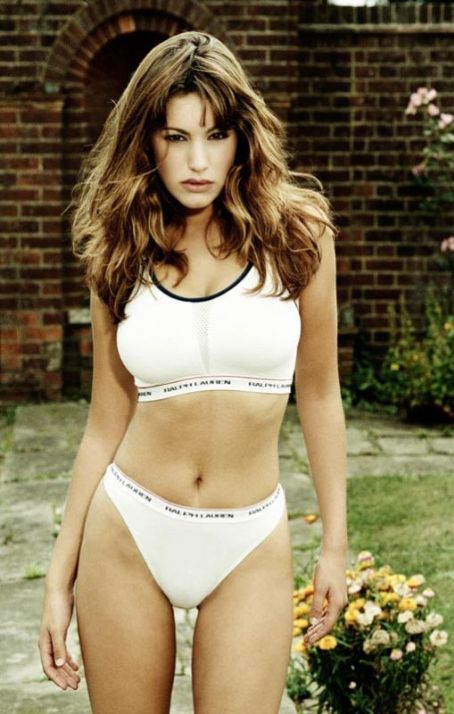 Kelly Brook in Sporty Underwear