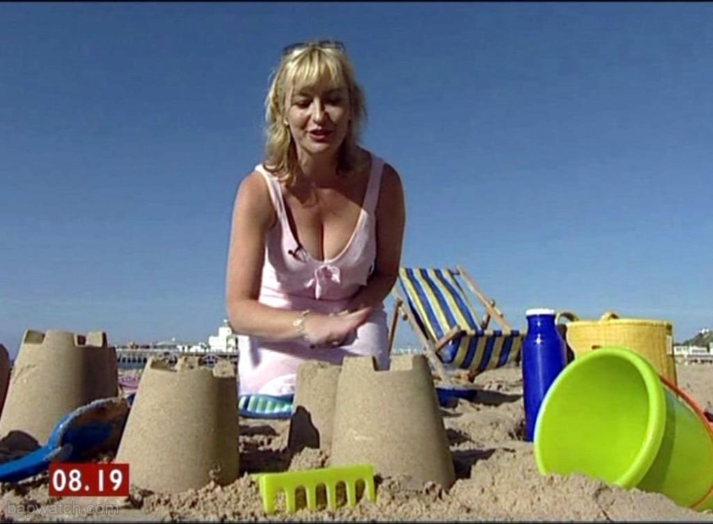Carol Kirkwood Sandcastles