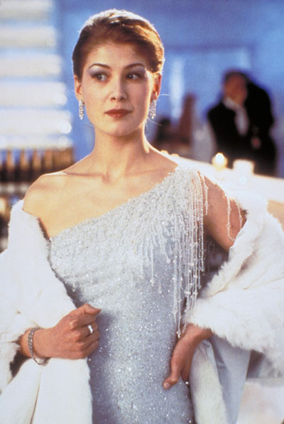 "Rosamund Pike as Miranda Frost in ""Die Another Day"""
