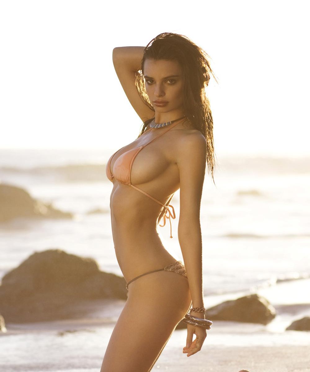 Emily Ratajkowski Bikini on the Beach