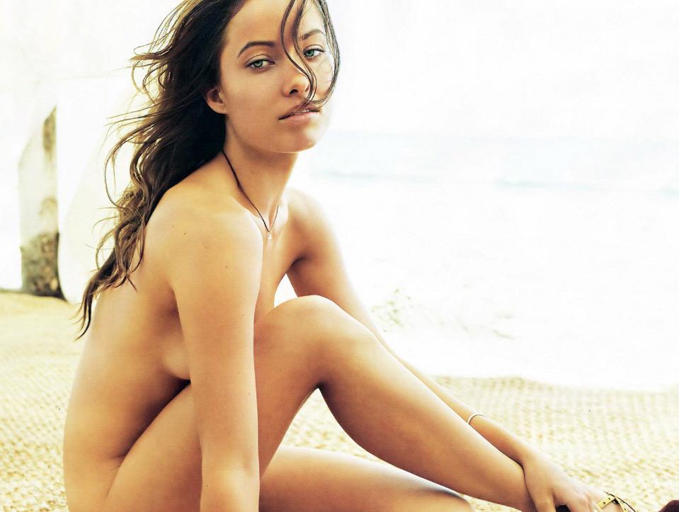 Olivia Wilde No Clothes