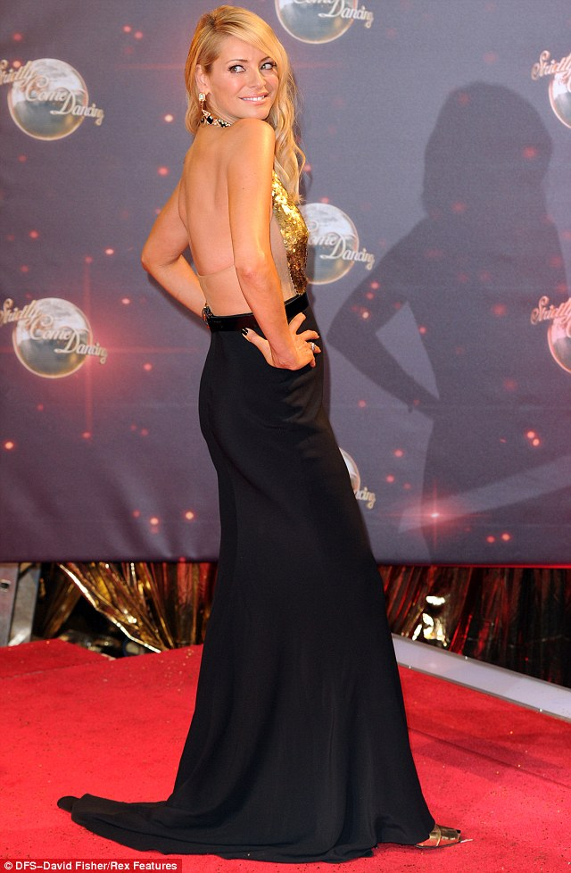 Tess Daly at the Strictly Come Dancing Launch